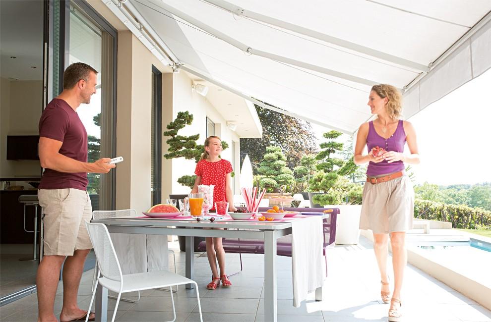 Užijte si léto na zastíněné terase